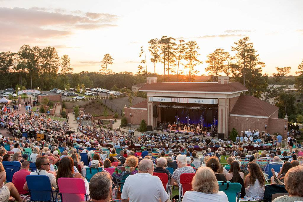 Guests at Sweetland Amphitheater, LaGrange, Georgia